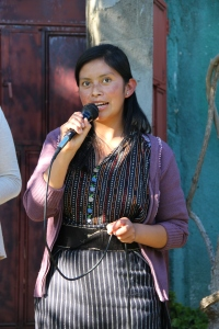 Juana is the first recipient of the Patricia Jean Scholarship. She is studying to be a nurse.