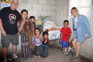Jim and Doris visiting Juan Anibal in Tierra Linda Guatemala, March 2015.