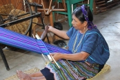 The textile cooperative is another annual visit site.